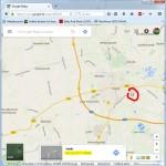 Ortskoordinaten bei Google Maps